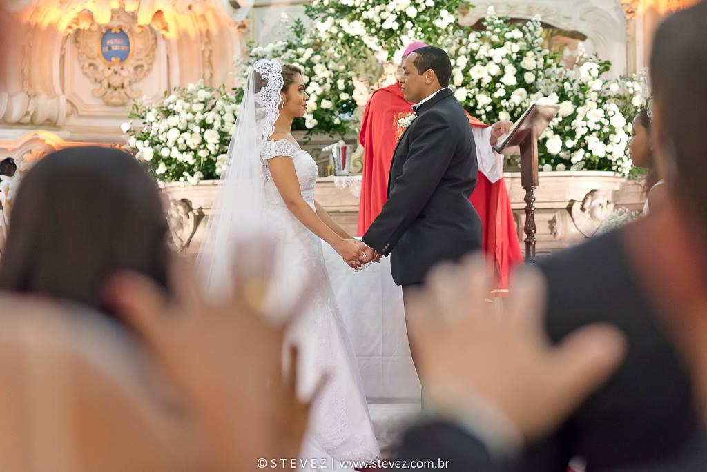 Foto de Daiana e João