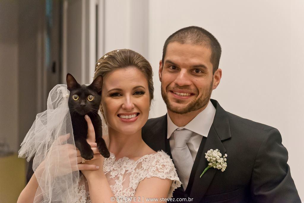 Foto de Livia e Thiago