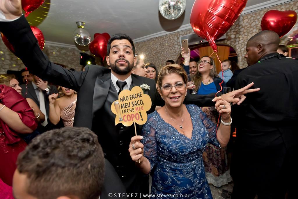 Foto de Rafaella e Plinio