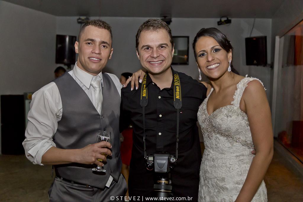 Foto de Carolina e Telmo