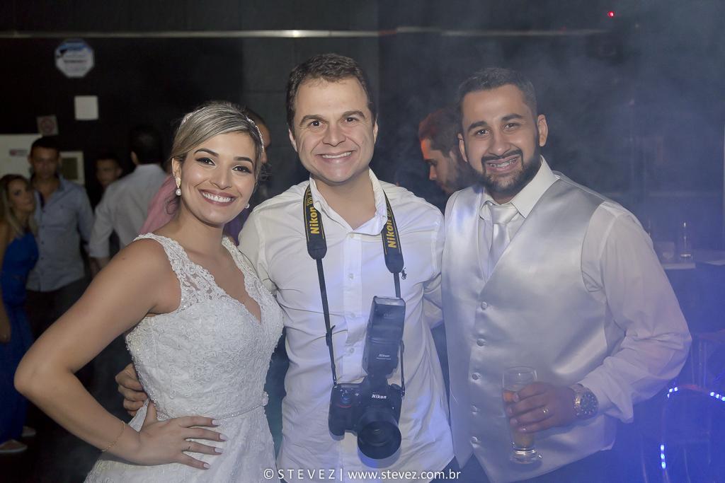 Foto de Samira e Felipe