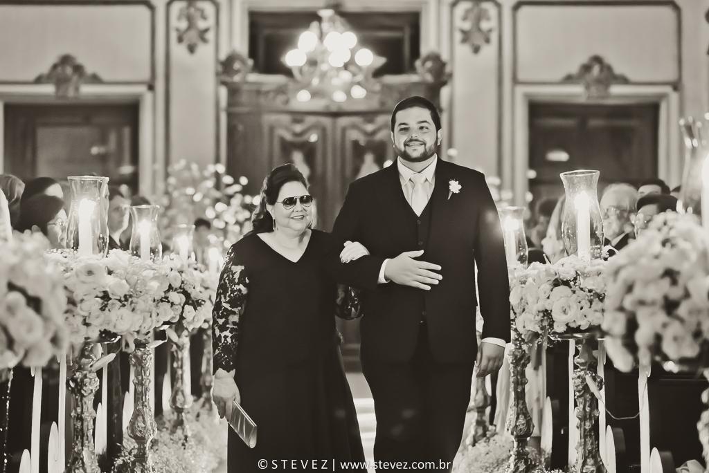 Foto de Mariana e Francesco