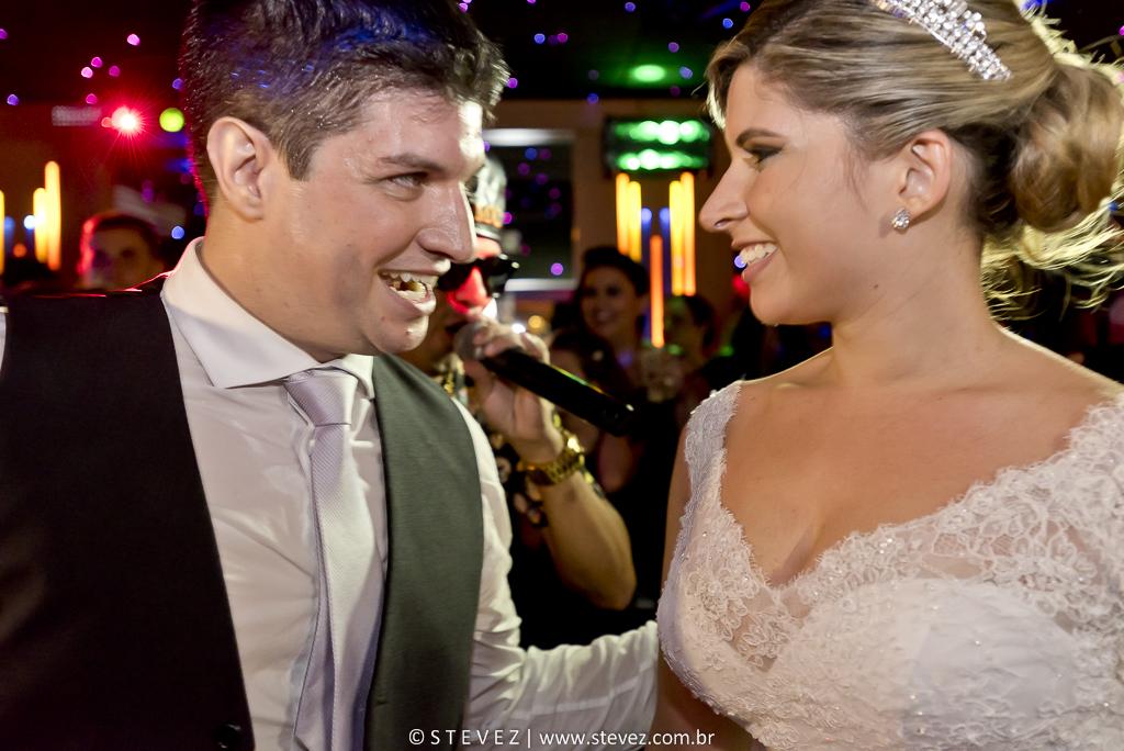 Foto de Denise e Tiago