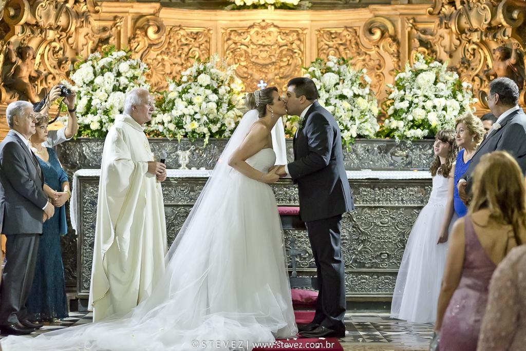 Foto de Isabella e João