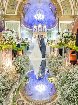 Casamento de Thais e Filipe em Igreja Nossa Senhora das Graças e Golden Palace