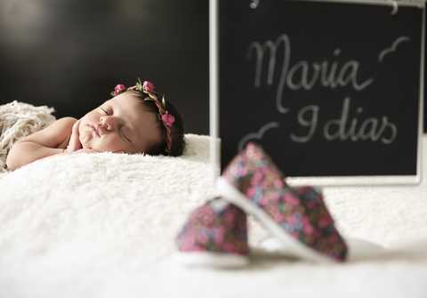Newborn de Maria - 9 dias