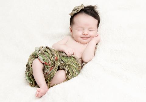 Newborn de Marina - 12 dias em Belo Horizonte - MG