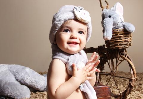 Bebês de Ana Beatriz  - 1 ano
