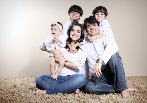Família de Mirela e Rodrigo + 3