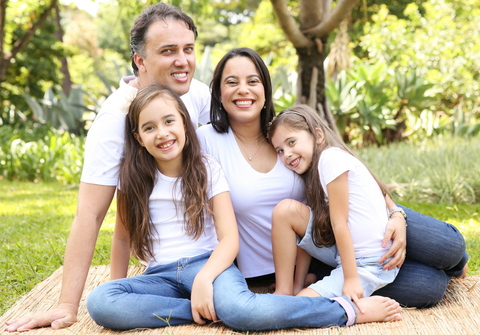 Família de Leila e Alessandro + 2