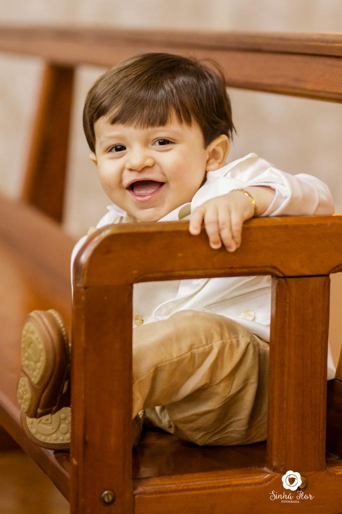 Foto de Meu Batismo { Benício }