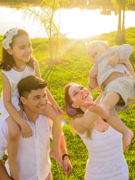 Portrait de Portrait Família { Antonio+Priscilla=Giovanna+Davi } em Dourados-MS