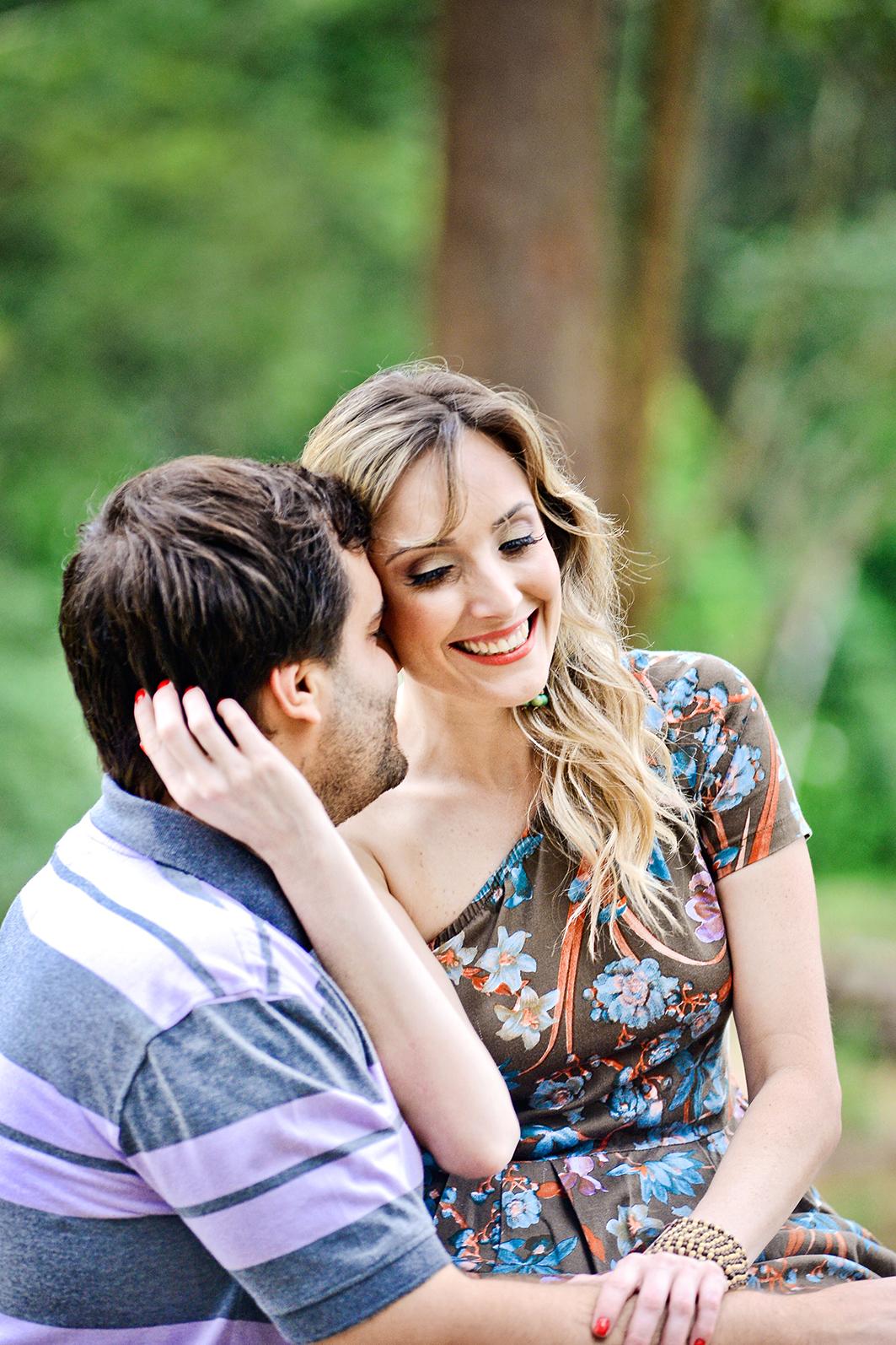 Foto de Talita e André
