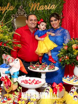 Aniversários de 1 aninho Layla Maria em Itabaiana -SE