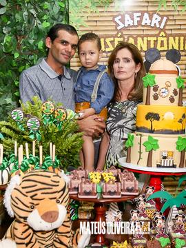 Aniversários de 2 Aninhos - José Antônio em Ribeirópolis -Se