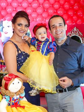 Aniversários de 1 Aninho da Princesa Ester em Itabaiana -SE