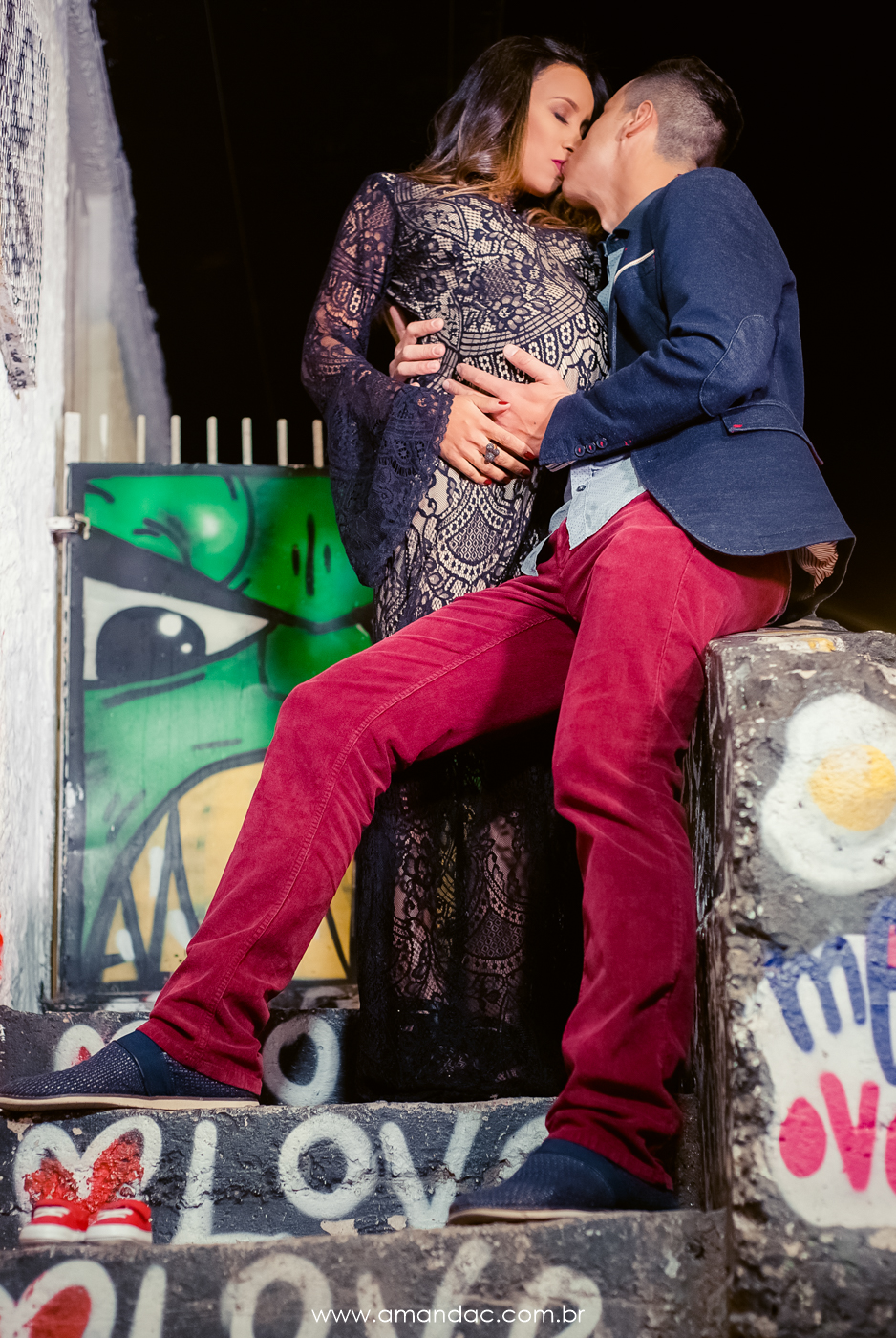 Foto de Priscilla e Fernando