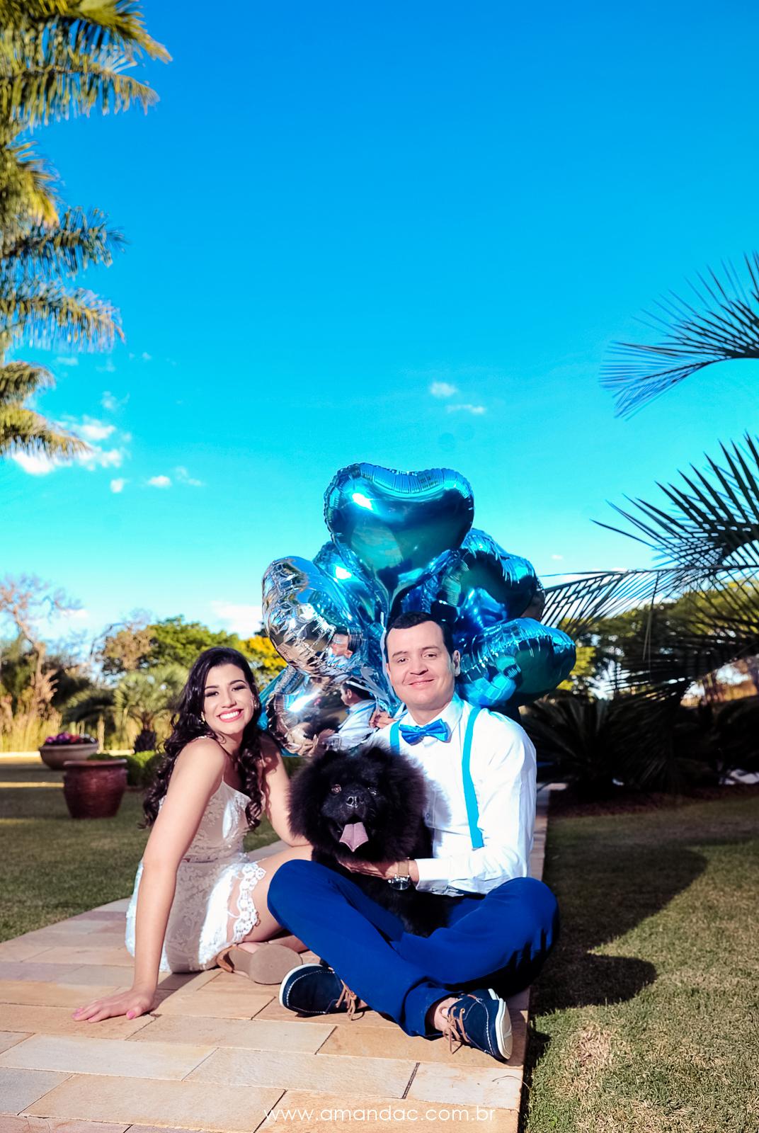 Foto de Uma família completa e feliz!