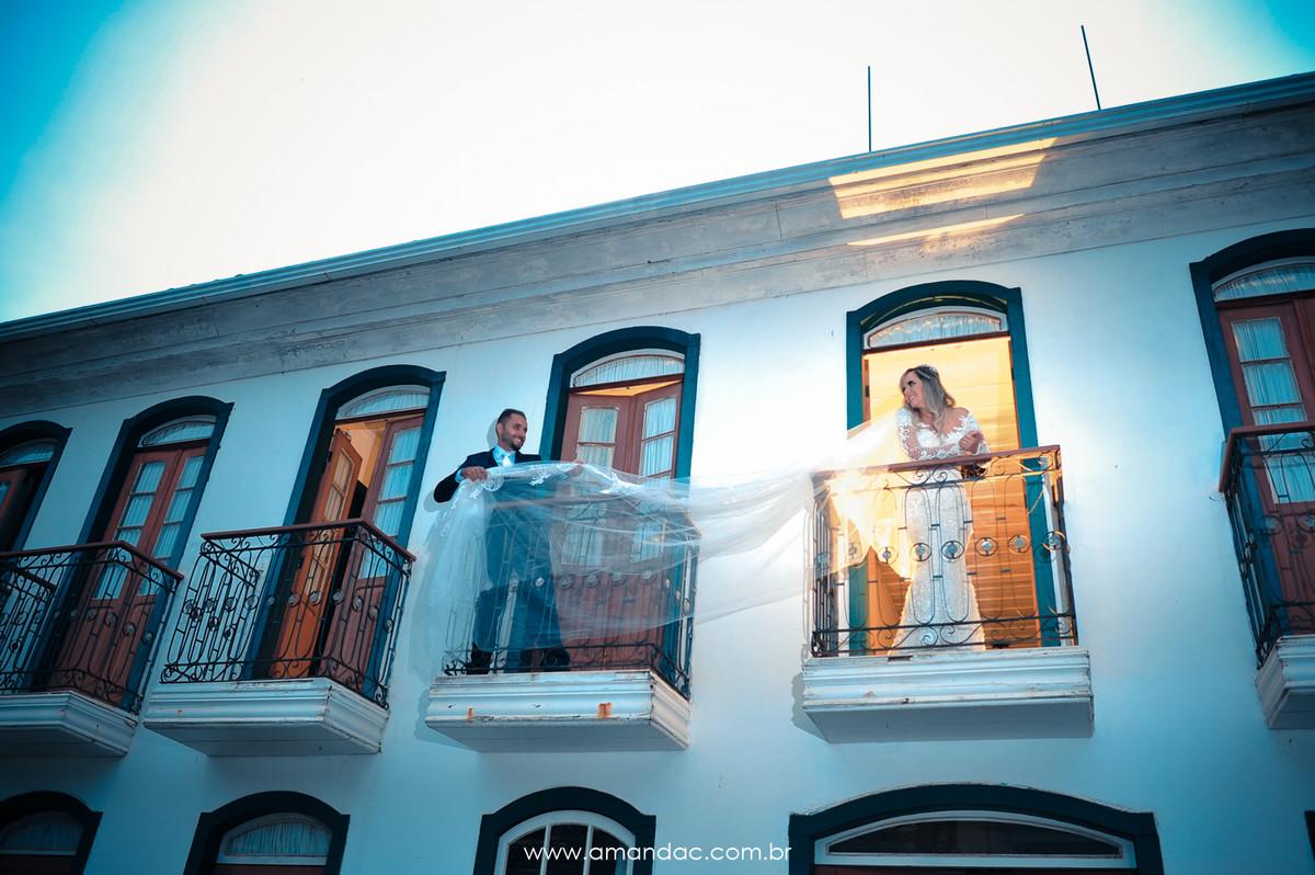 Foto de Andreza e Vinícius