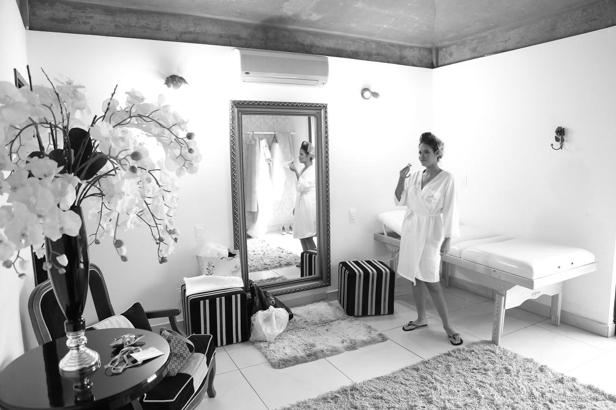 a expectativa da noiva