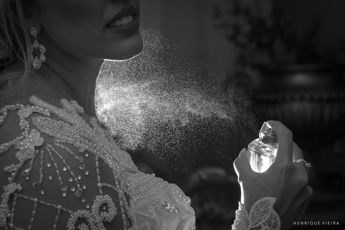 momento único: o perfume da noiva