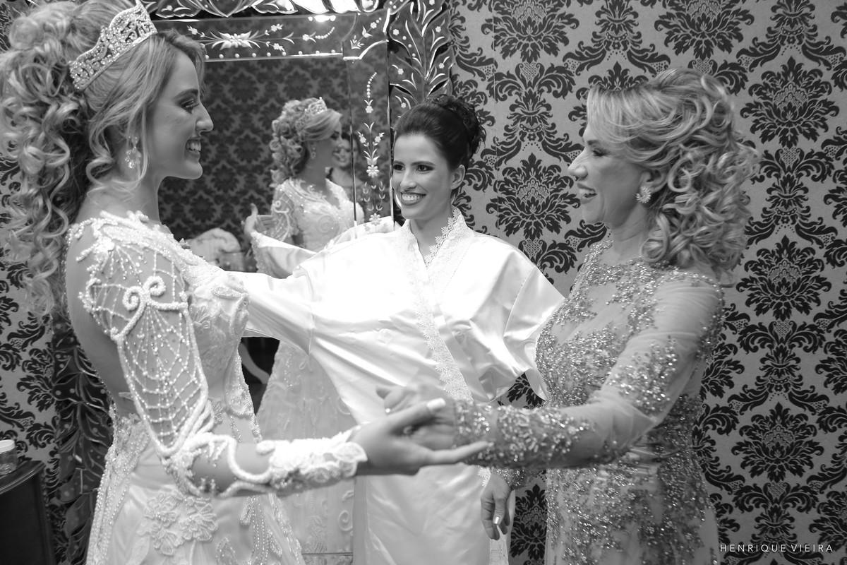 a família da noiva