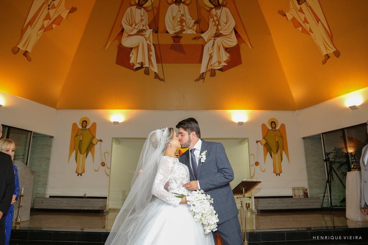 o beijo no altar