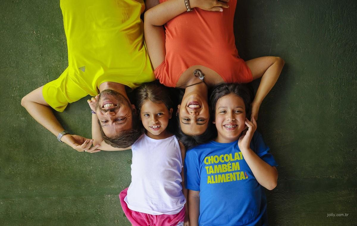 familia linda e colorida fotografia de rick joilly