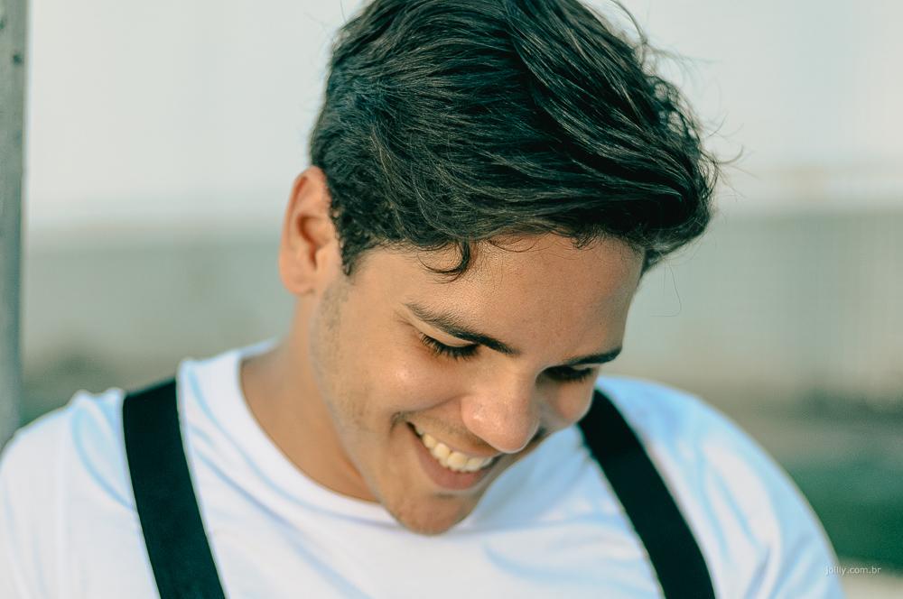 homem feliz beleza