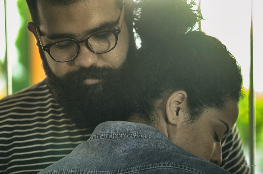 amor e carinho entre o casal