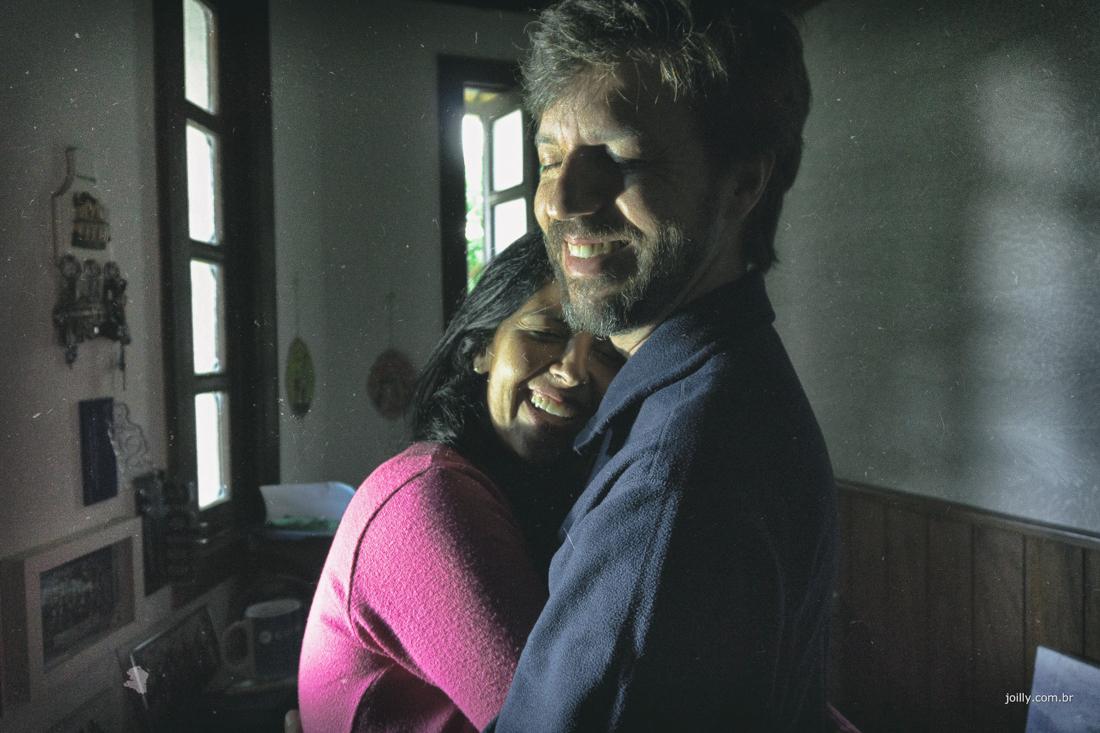 abraço e energia de amor