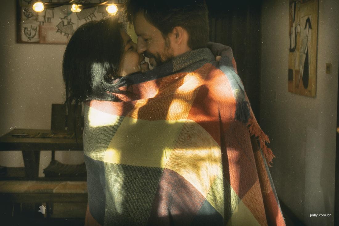 entre lencol casal é clicado por rick joilly