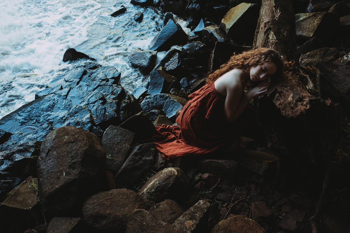 Fotografia que parece pintura realizado pela fotógrafa brasileira Tati Itat