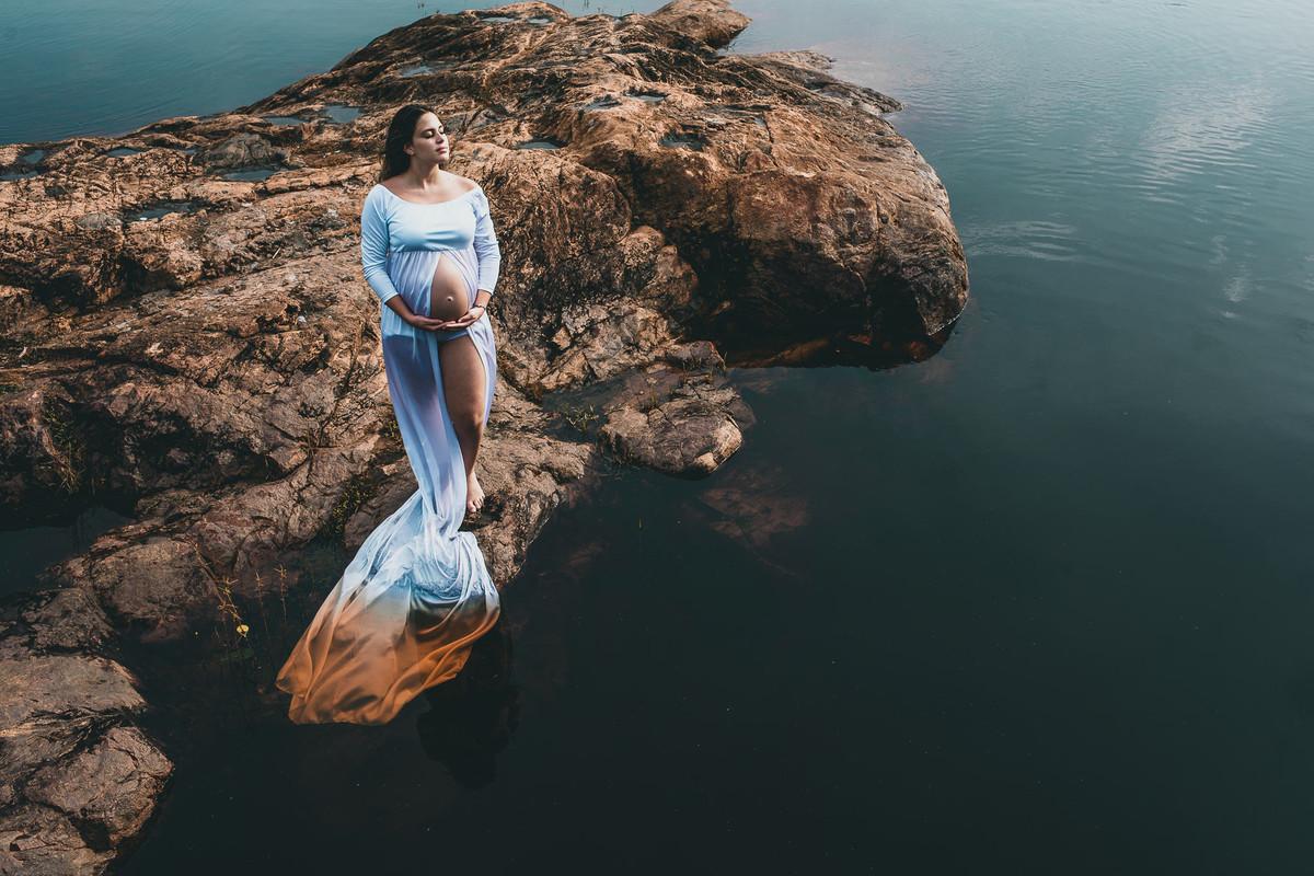 Arte fotografia e alma através do olhar da Tati Itat em ensaios de gestante