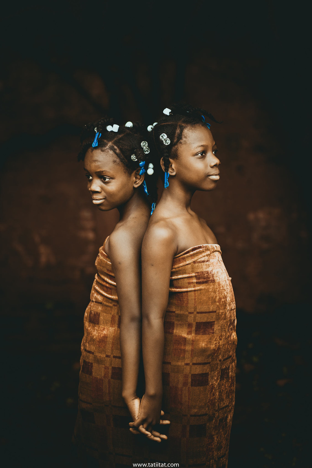 Haitian children living in Brazil photographed in a poetically inspiring and exciting way