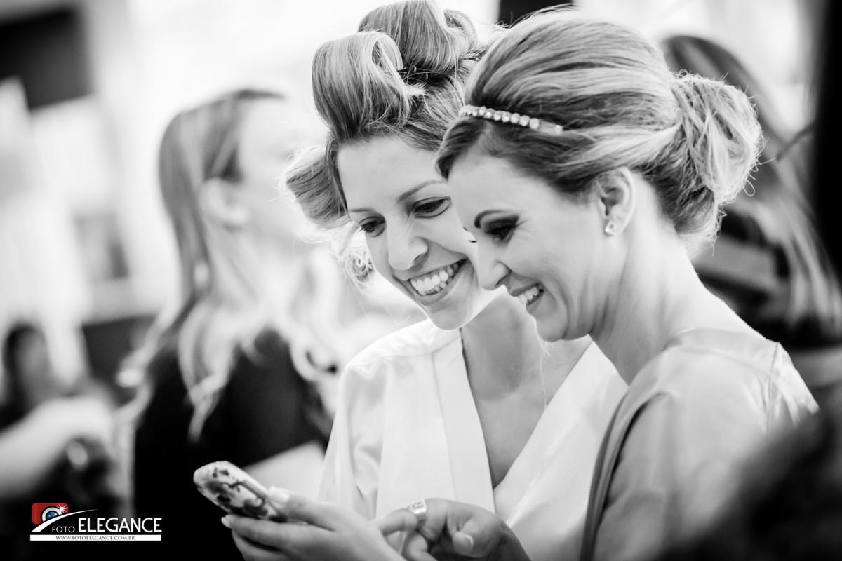 fotos de noiva no salão de beleza