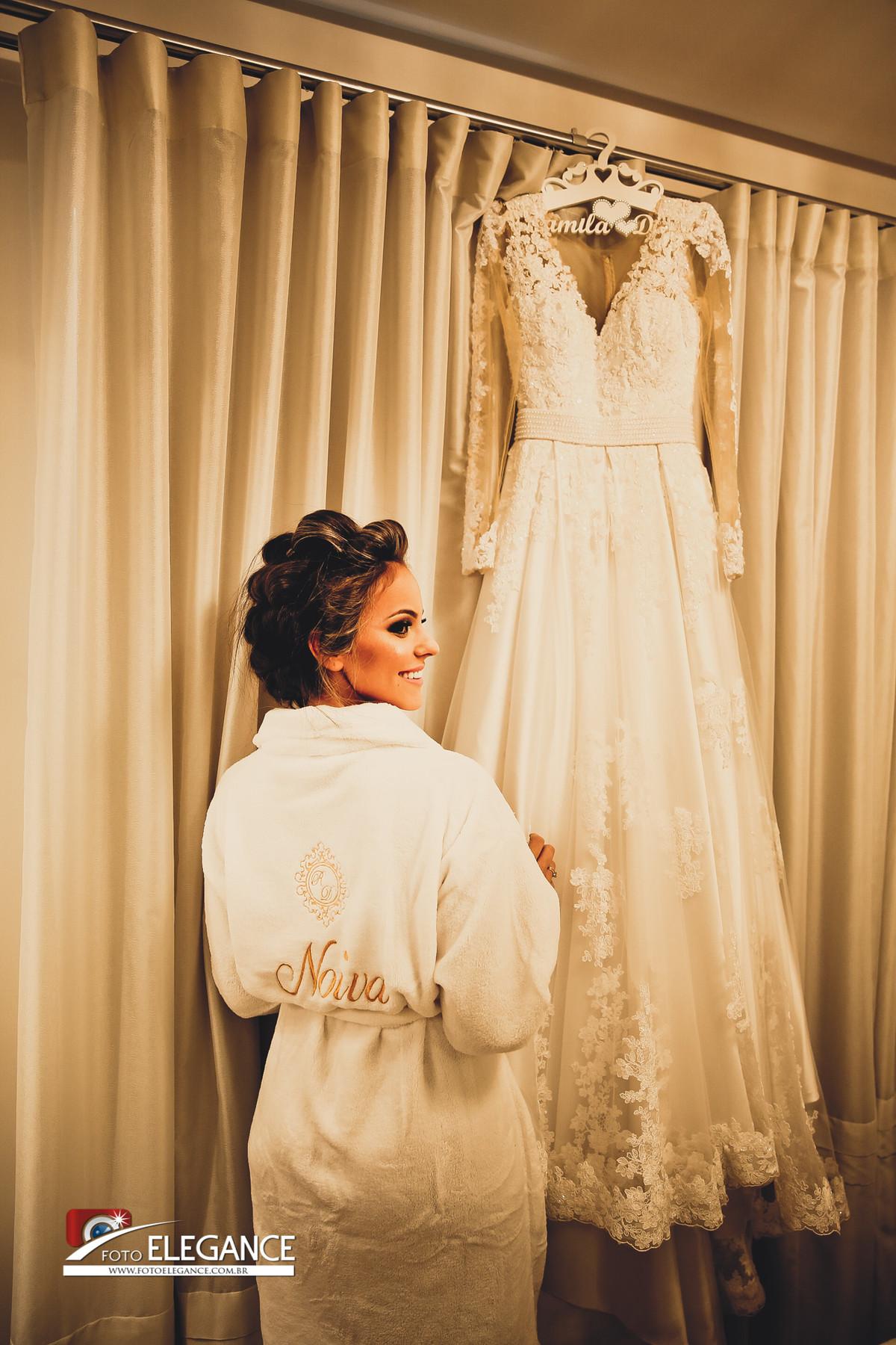 fotos de noiva se arrumando