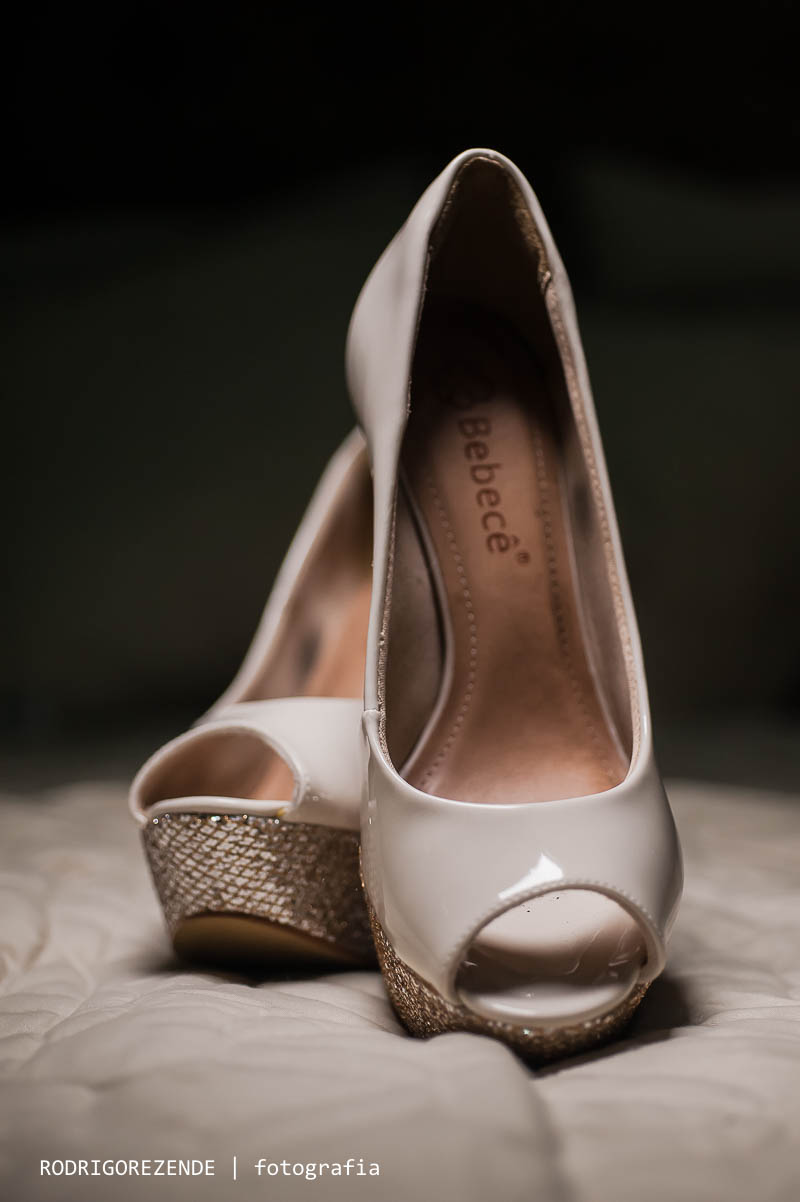 making of da noiva em casa, sapato da noiva