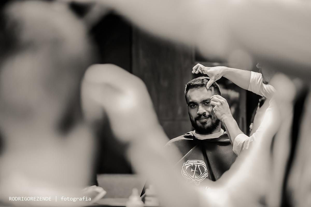 making of noivo, barbearia do ze