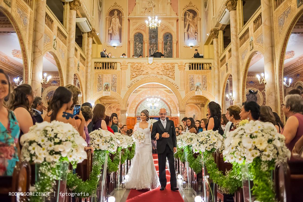 cerimônia, igreja coração de jesus