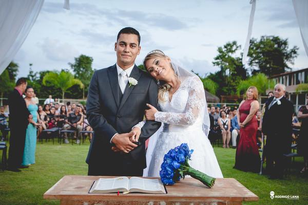 Casamento de Ariane & Webson