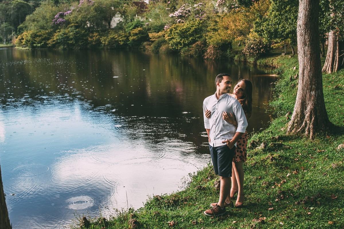 Foto de Hadassa e Allan