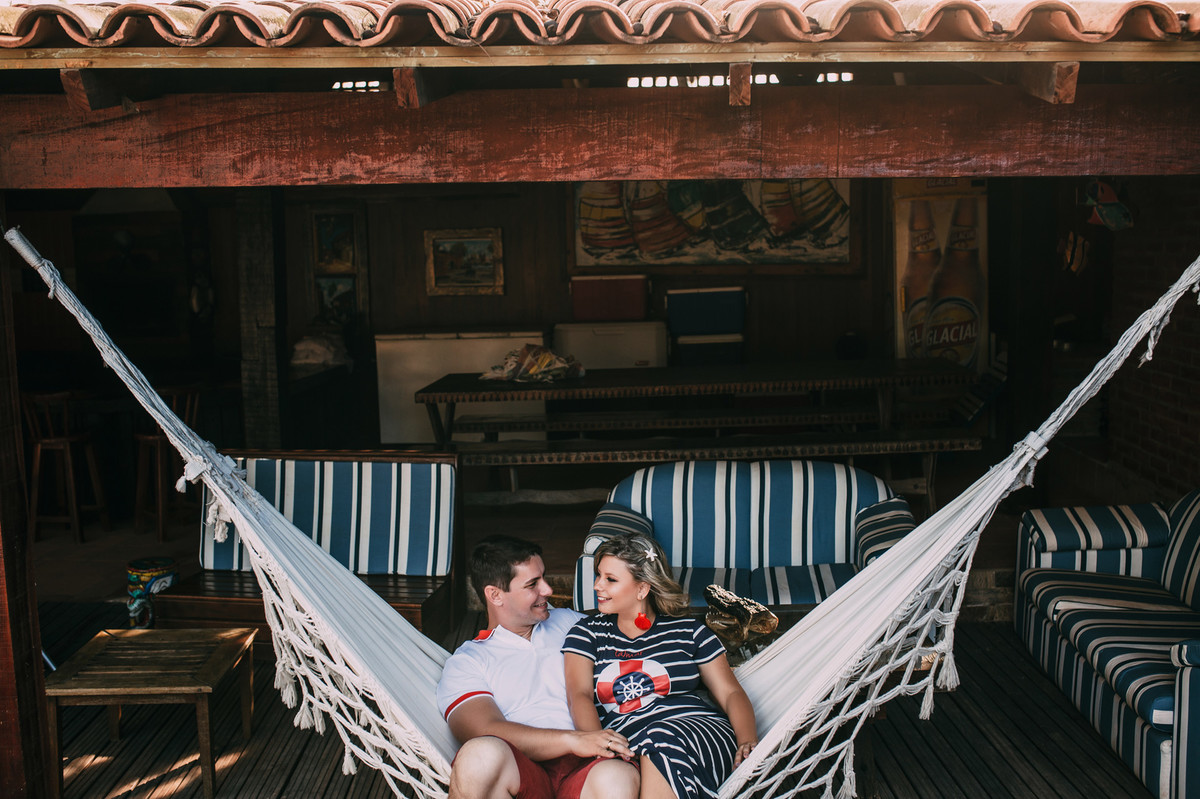 Foto de Suellen e André