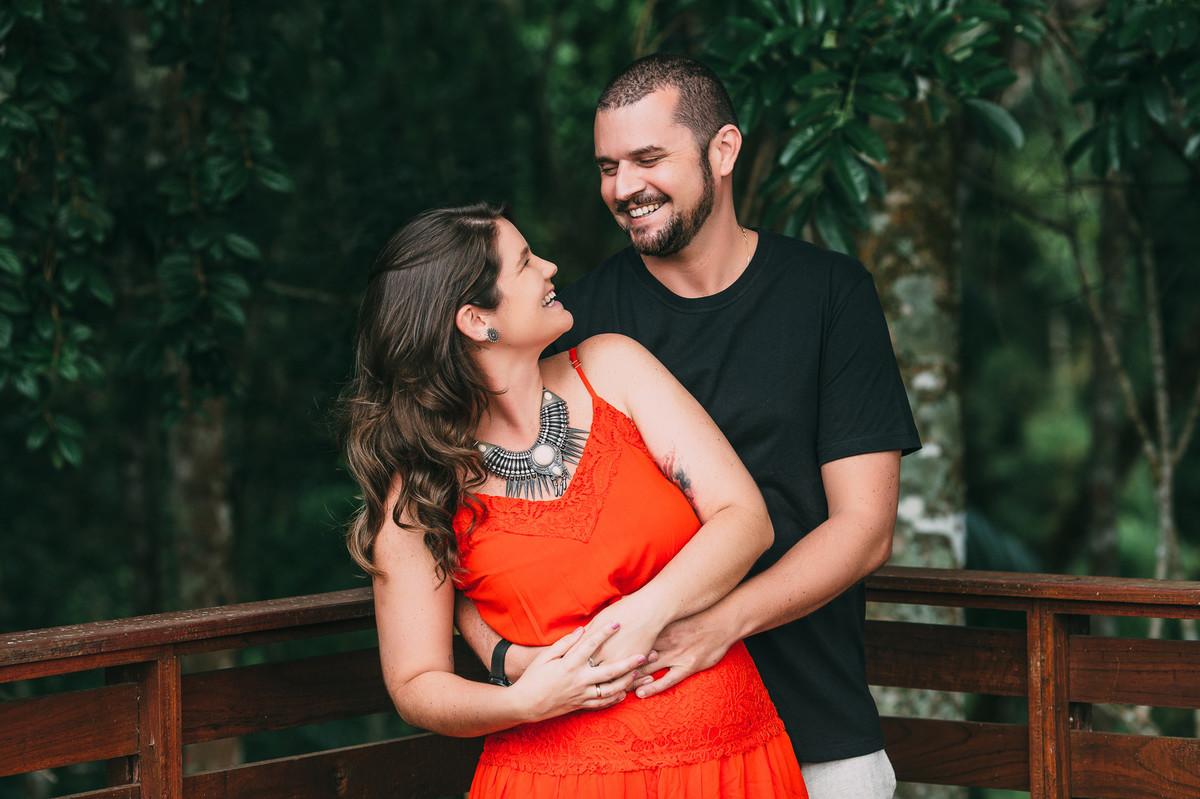 Foto de Joana e Junior