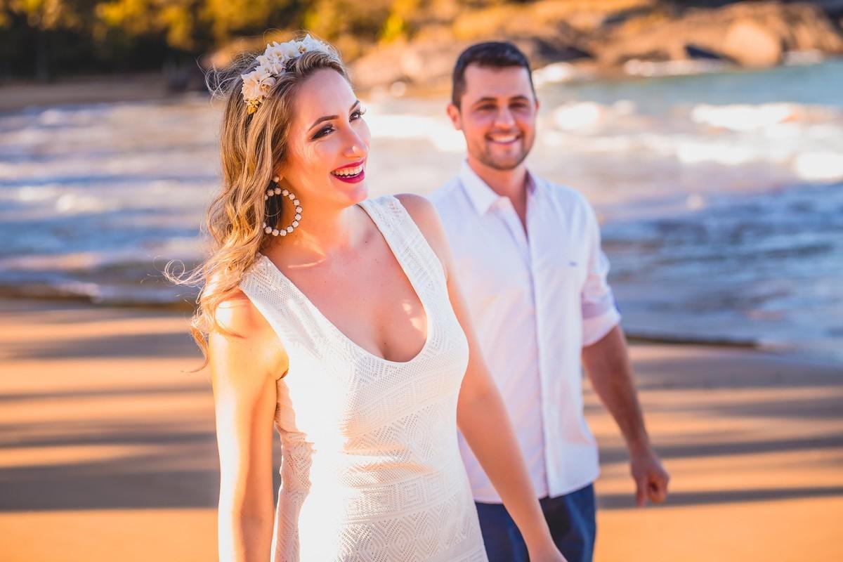 Belíssimo ensaio de pré casamento de Maria Clara e Raul
