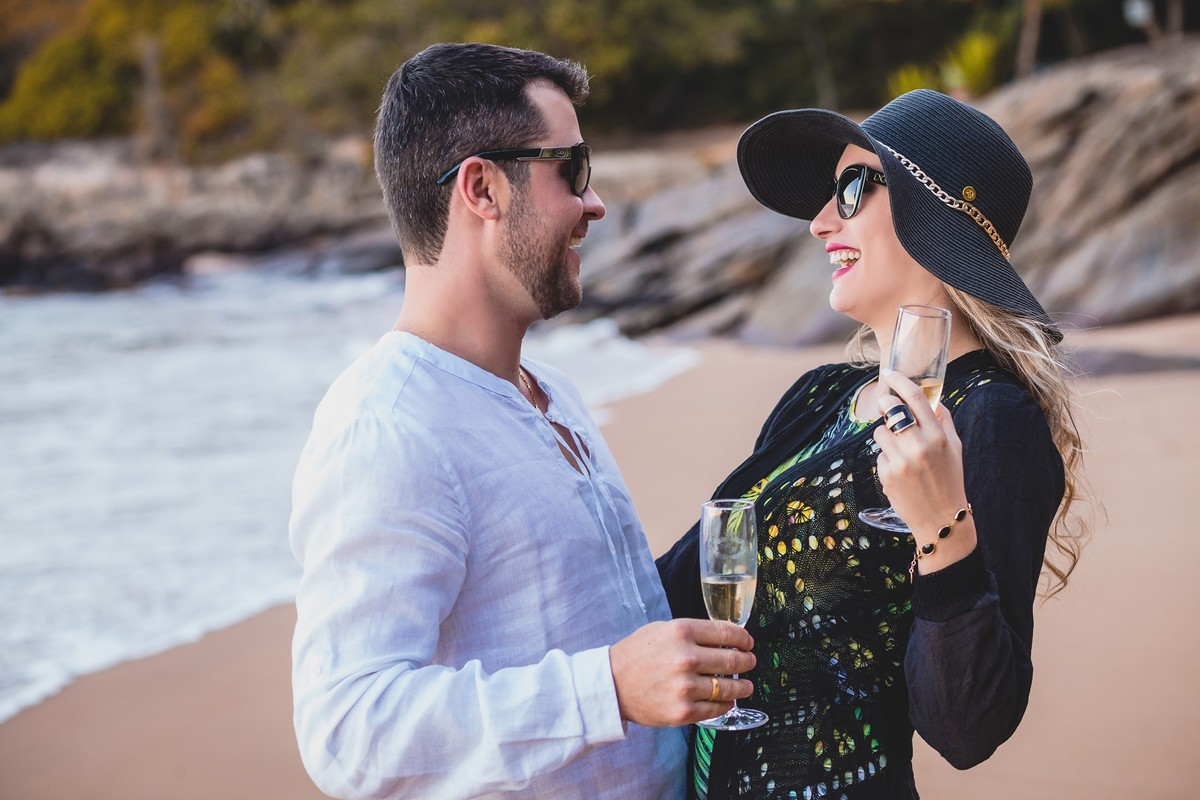 Ensaio de pré casamento de Maria Clara e Raul por Gustavo Piazzarollo