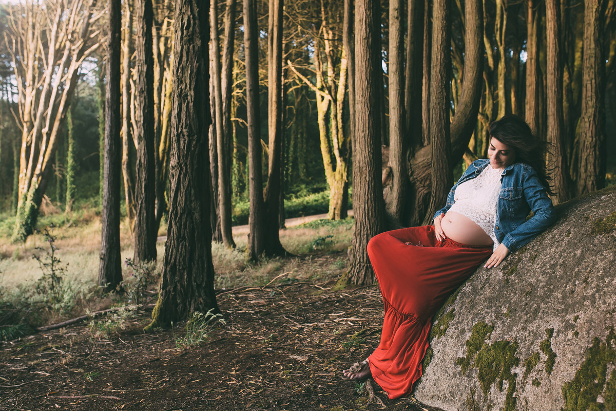 Foto de Joana a espera de Simão