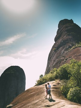 Pre Wedding de Mirella e Matheus em Frade e a Freira - Rio Novo