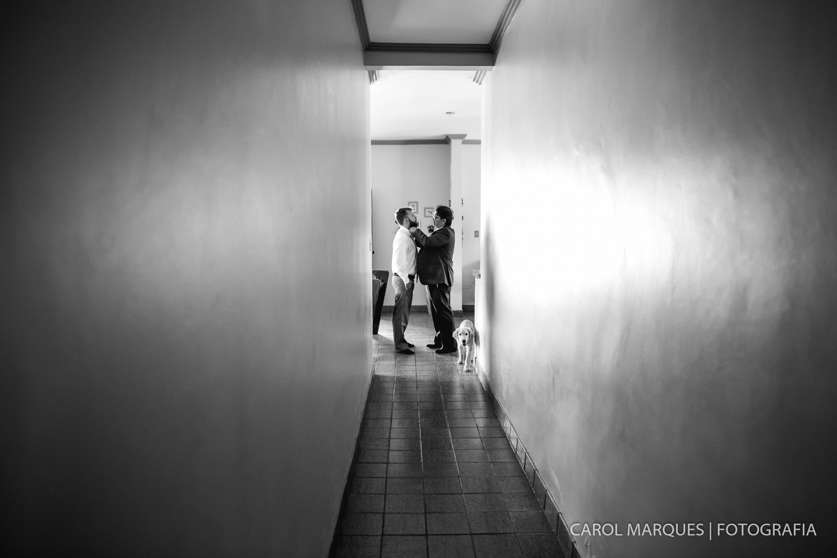 Foto de Thays e Bruno