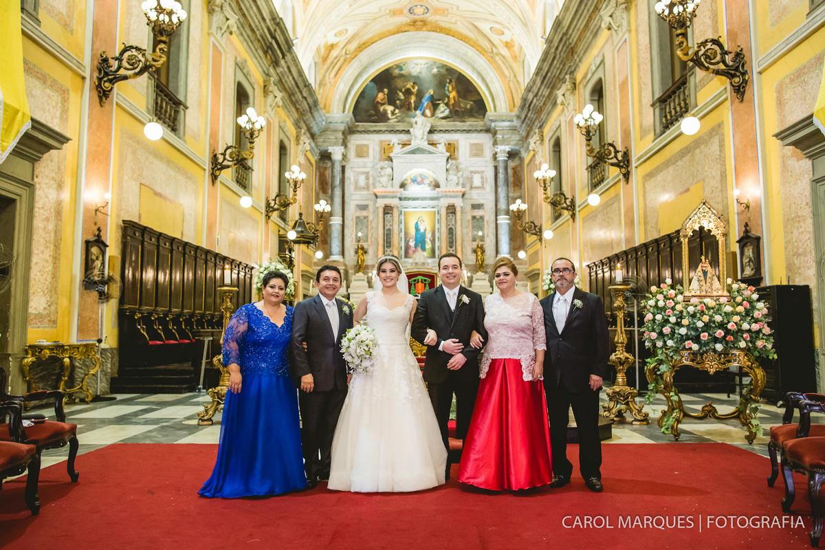 Foto de Larissa e João